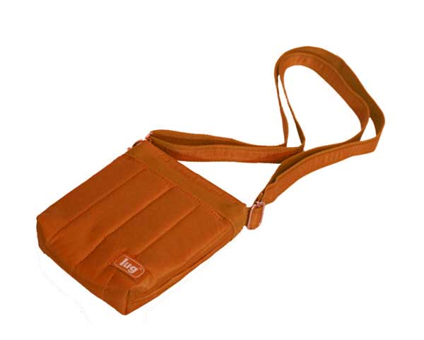 Hopper Mini Shoulder Pouch- Sunset Orange