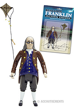 Ben Franklin Action Figure